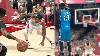 NBA 2k17 MyCAREER - Flaming Red Hot Spots! Lob City Marathon + Triple Ankle Breaker! Ep. 154