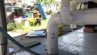 Tiny Home Sewer Connection