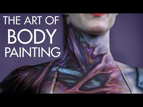 How to Body Paint - The Art of Painting Skin - PREVIEW