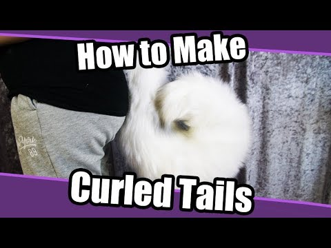 Tutorial 26 Curled Tail For Fursuits Cosplay Pdf Pattern