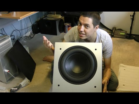 Unboxing: Polk Audio PSW505 12-inch Powered Subwoofer