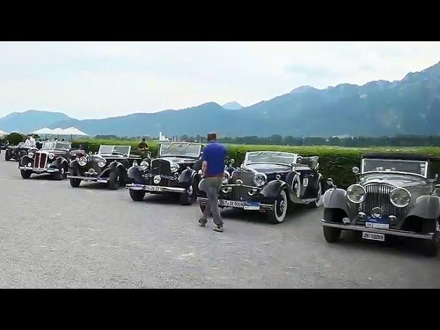 Oldtimer-Rallye: Schlösser und Seen