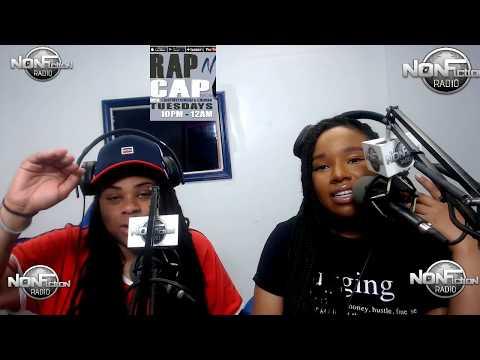 Rap N Cap on Nonfiction Radio 05/15/18