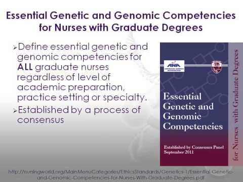 Relevance of Genomics to Healthcare and Nursing Practice