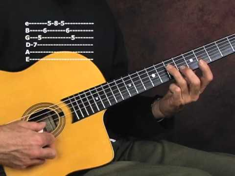Gypsy Jazz guitar lesson learn and practice lead solo exercises ...