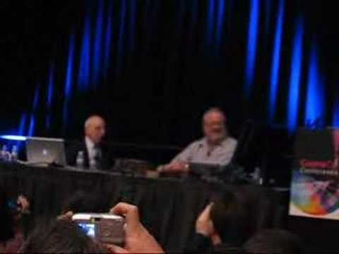 Ralph Baer and Al Alcorn Play Ping-Pong Video Game - 2008