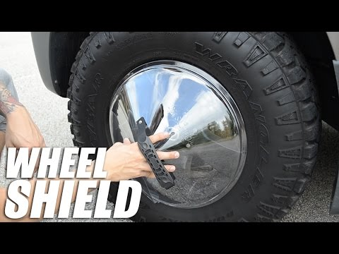 Wheel Shield For Dressing Tires No Longer Available