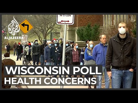 Wisconsin poll raises health concerns as vote-by-mail calls grow