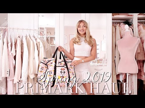 PRIMARK Spring 2019 Try On Haul 🌸 ~ Spring Fashion Edit ~ Freddy My Love