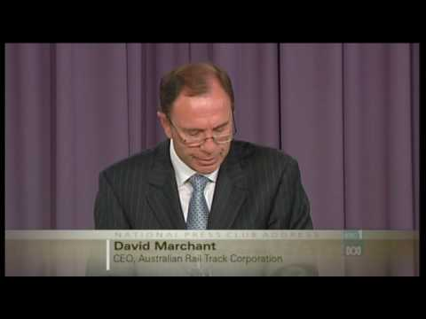 National Press Club: David Marchant from ARTC (Part 2)