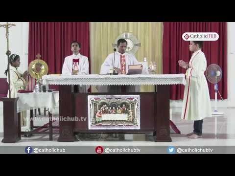 English Mass @ St.Theresa Church, Bandra, Mumbai, Maharashtra, INDIA, 01-06-17