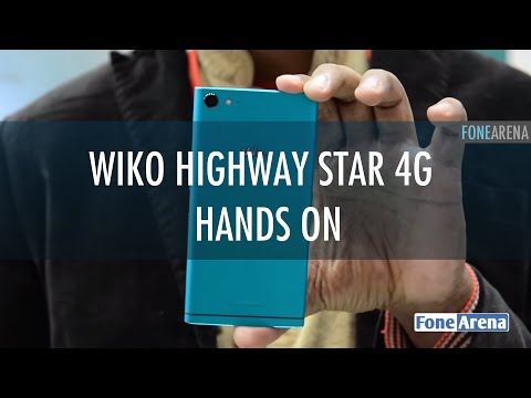 Wiko Highway Star 4G Hands On