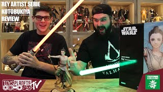 Rey /& Finn 15-18 cm 903276 Star Wars Episode VII pack 2 statuettes PVC ARTFX