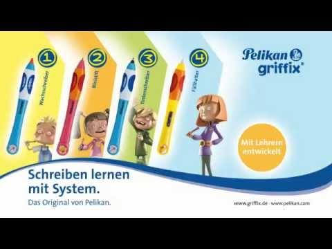 Pelikan Griffix Schreibgeräte für Linkshänder u. Rechtshänder