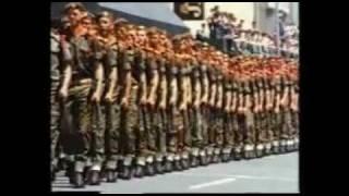 Apartheid Propoganda, militarised society.