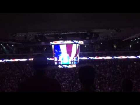 America The Beautiful Song At Spurs v Warriors