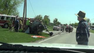 VEHICLE ACCIDENT WITH EXTRICATION PART 1 4-30-2013
