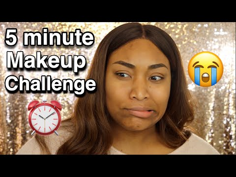 FIVE MINUTE MAKEUP CHALLENGE - IRISBEILIN
