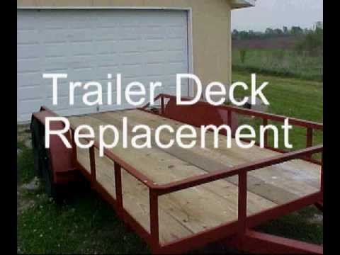 Trailer Deck Replacement