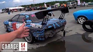 Разбили Nissan Skyline R32. Дрифт И Тусовка