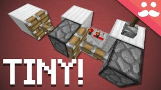 Minecraft: How to make Tiny Piston Extenders