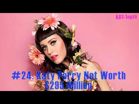 Top 50 Richest Singers in the world 2018