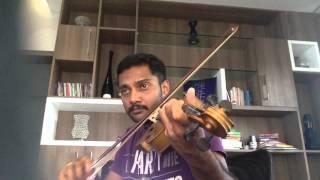 Venal puzhayil malayalam super hit song in violin
