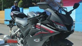 YZF-R15 Rossi + Vinales 155 cc 19.3 ps VVA เปิดตัว 22 มค.60 : motorcycle tv