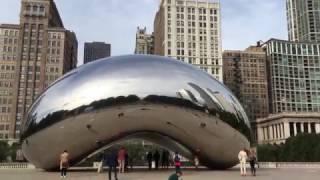 БОЛЬШОЕ ПУТЕШЕСТВИЕ ПО США: Пешая прогулка по центру Чикаго   Часть 2 [Автор: Слава Бунеску]