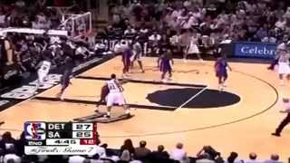 2005 NBA Finals - Detroit vs San Antonio - Game 7 Best Plays