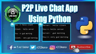 Peer To Peer Chat Application In Python - Жүктеу