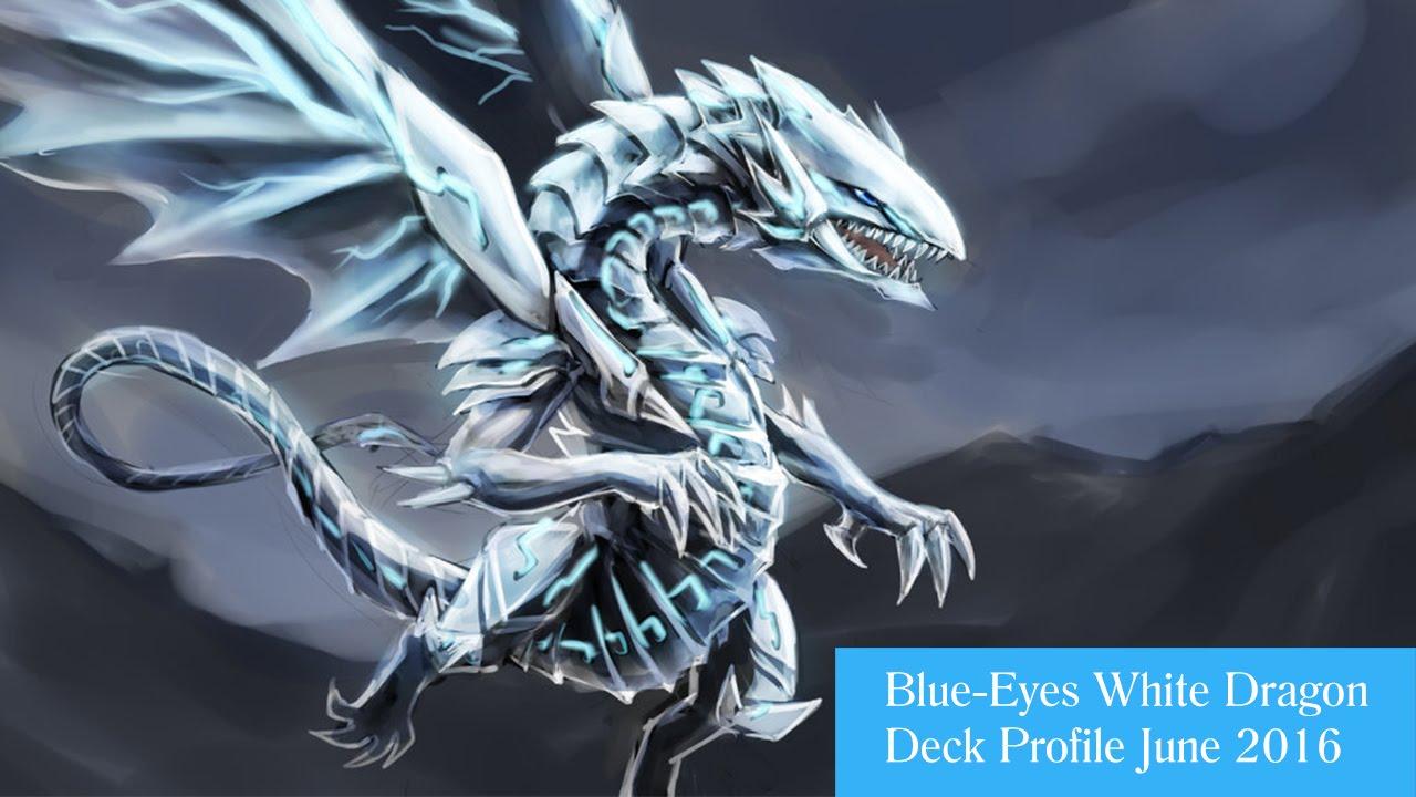 in depth blue eyes white dragon deck profile june 2016 youtube