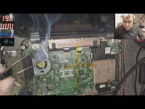 Motherboard Repair Lesson! This is a important one! Dell Inspiron 7720 motherboard repair