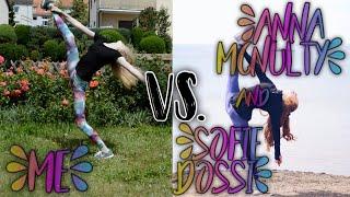 ME vs. SOFIE DOSSI & ANNA MCNULTY - 6 BILDER NACHSTELLEN   KindOfJessi