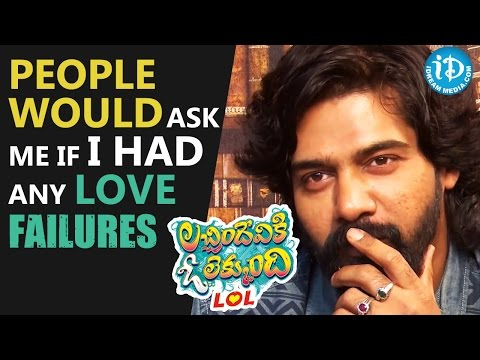 People Would Ask Me If I Had Any Love Failures - Naveen Chandra
