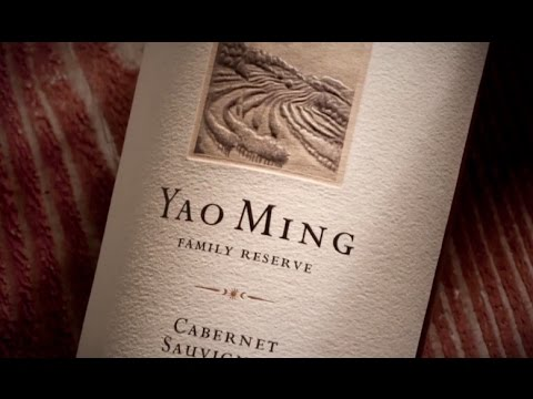 Yao Ming Scores with Winery in California