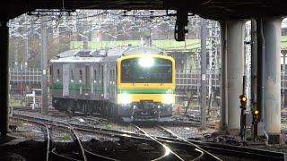 2021/04/05 【首都圏初試運転】E493系オク01編成尾久車両センター & 上野駅 | JR East: Test Run of E493 Series OKu 01 Set