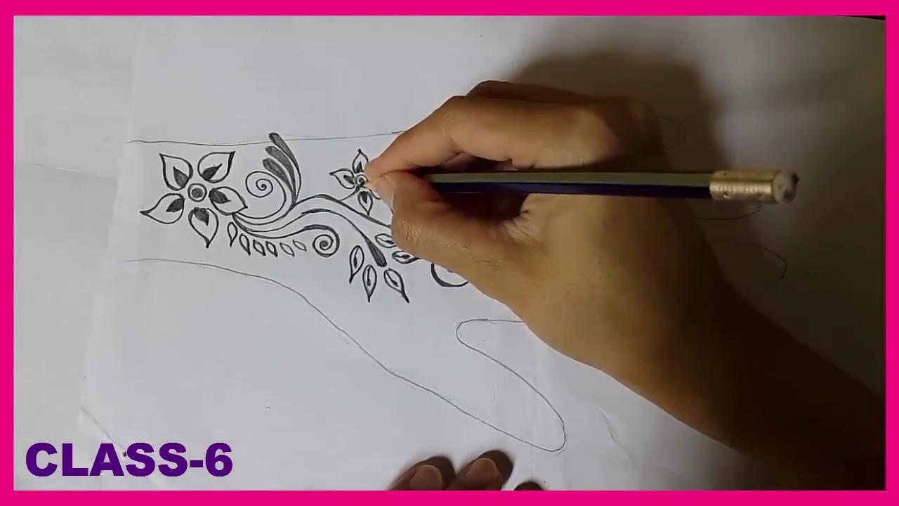 mehndi design class 6