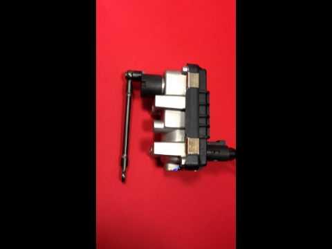 Turbolader Ladedrucksteller Prüfung (Garrett Hella)