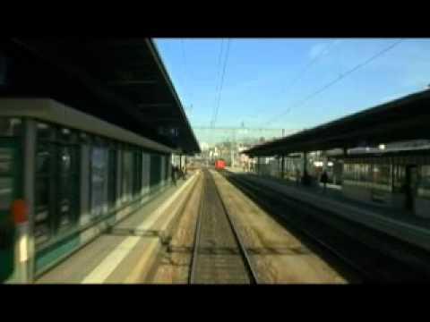 Führerstandsmitfahrt Basel - Friedrichshafen - Ulm 1/2