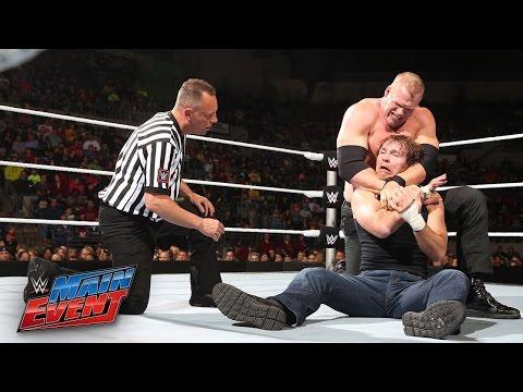 Dean Ambrose vs. Kane - WWE Main Event, November 25, 2014