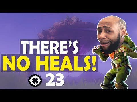 THERE\'S NO HEALS! 23 KILLS INSANE SOLO GAME | FUNNY GAME -(Fortnite Battle Royale)