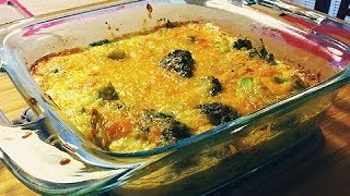 Broccoli And Cheese Casserole Recipe By: Food Luv Bites