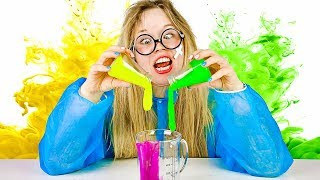 Funny Science For Children With Mad Scientist