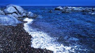 Sleep Well with Pebble Beach Wave Sounds at Night, Sleepy Ocean Sounds - Sweet Dreams