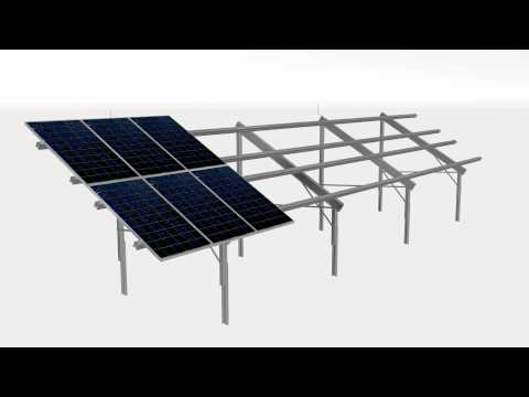 TRIC FL - Solar PV Free Standing Greenfield Mounting System