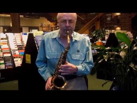 Listen as Andy Marsala plays the alto saxophone!