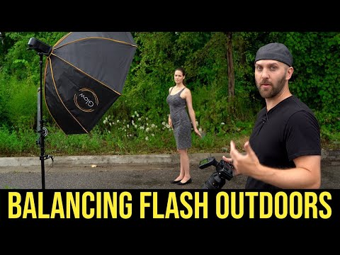 Flash Photography Tutorial : How to Balance a Flash Outdoors thumbnail