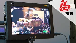 Blackmagic Video Assist 12g Hdr Ibc 2019 Youtube