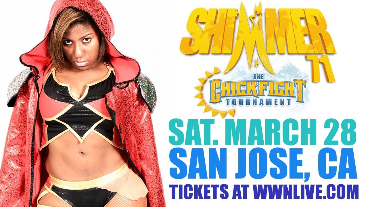 Znalezione obrazy dla zapytania Athena Shimmer Wrestling